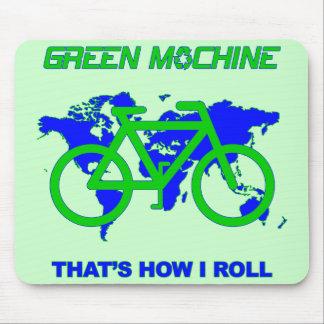 Green Machine Mouse Mats