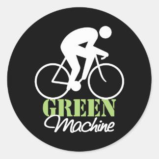 Green Machine Stickers