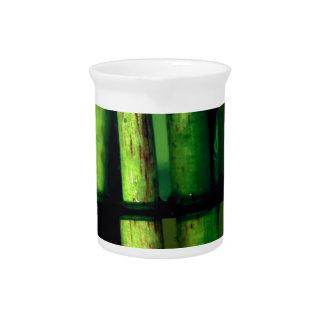 Green macro beverage pitchers
