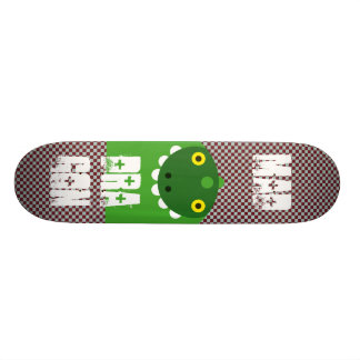 Green Mad Dragon Skateboard Deck