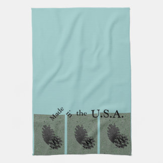 Green & Made in the USA Towel
