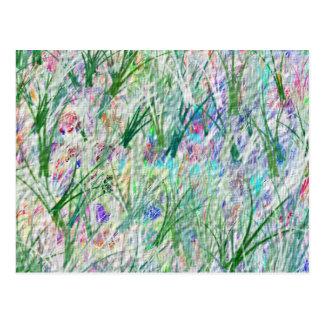Green Magic Garden - Customizable Template Postcard