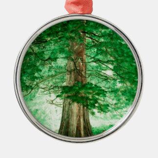Green magic metal ornament