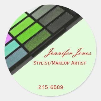 Green Makeup Sticker