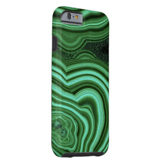 """Green Malachite iPhone 6 Case"" Tough iPhone 6 Case"