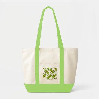 Green Mama and Baby Dragonfly Bag