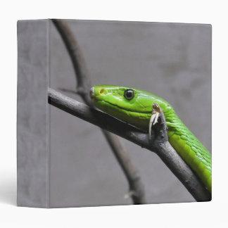 Green Mamba 3 Ring Binder