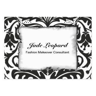 GREEN MAN Black & White Large Business Cards (Pack Of 100)