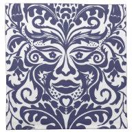 GREEN MAN Blue Cloth Napkin (<em>$47.95</em>)