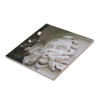 Green Man Ceramic Tile