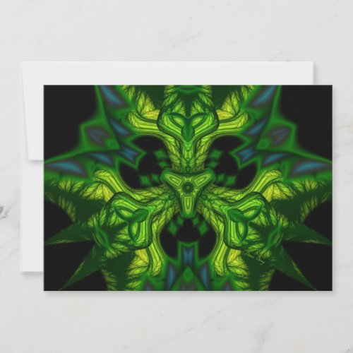 Green Man Goblin – Emerald and Gold Mask