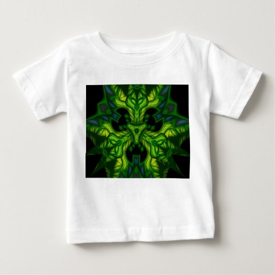 Green Man Goblin – Emerald and Gold Mask Baby T-Shirt