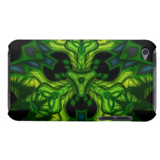 Green Man Goblin – Emerald and Gold Mask Barely There iPod Case