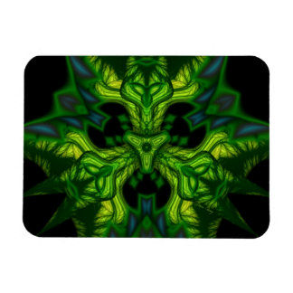 Green Man Goblin – Emerald and Gold Mask Magnet