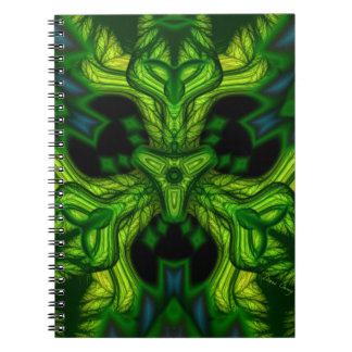 Green Man Goblin – Emerald and Gold Mask Notebooks