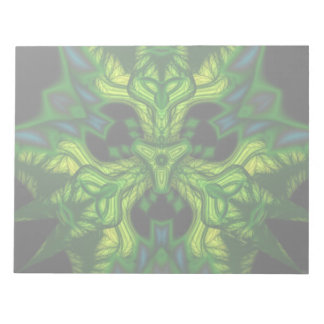 Green Man Goblin – Emerald and Gold Mask Memo Note Pads