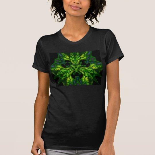 Green Man Goblin – Emerald and Gold Mask T-Shirt