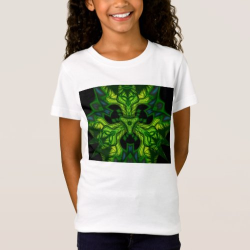 Green Man Goblin – Emerald and Gold Mask T-Shirt