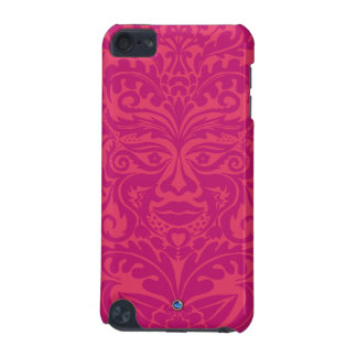 Green Man in 2 tones of Pink iPod Touch (5th Generation) Cover