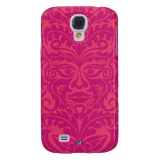 Green Man in 2 tones of Pink Samsung S4 Case