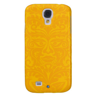 Green Man In 2 tones Yellow Samsung S4 Case