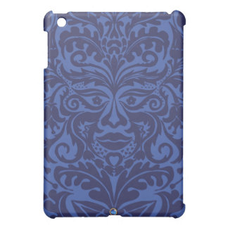 Green Man in Blues and white iPad Mini Cover
