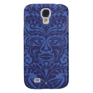 Green Man in Blues and white Samsung S4 Case