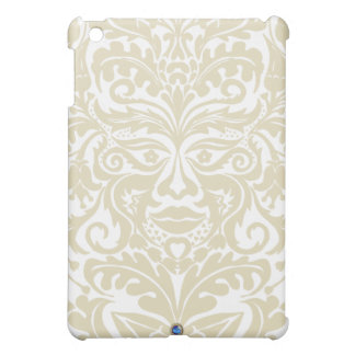 Green Man in natural white and stone iPad Mini Cases