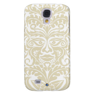 Green Man in natural white and stone Samsung S4 Case
