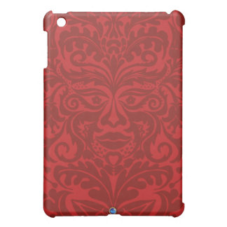 Green man in Reds and white Cover For The iPad Mini