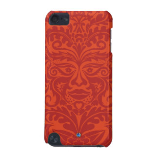 Green Man in Tangerine & Orange iPod Touch 5G Cover