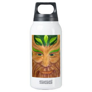 Green Man Insulated Water Bottle