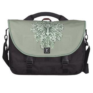Green Man Laptop Messenger Bag