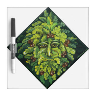Green Man Memo Board