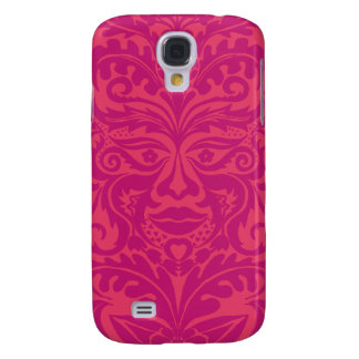 GREEN MAN Pink Galaxy S4 Cover