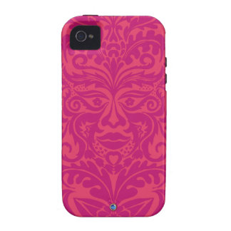 GREEN MAN Pink iPhone 4 TOUGH Case-Mate Vibe iPhone 4 Cases
