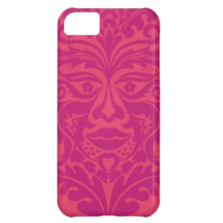 GREEN MAN Pink iPhone 5C Cases