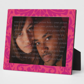 GREEN MAN Pink Photo Plaques