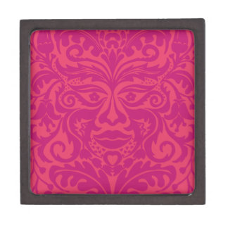 GREEN MAN Pink Premium Jewelry Boxes