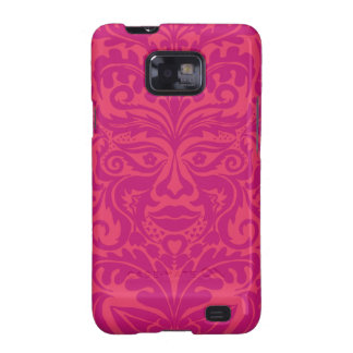 GREEN MAN Pink Samsung Galaxy S2 Covers