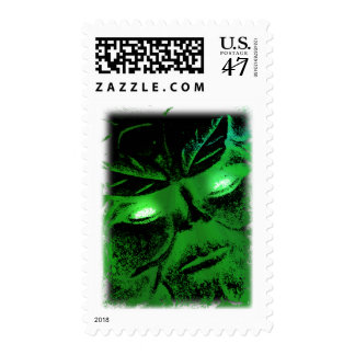 Green Man Postage