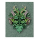 Green Man - Print or Poster