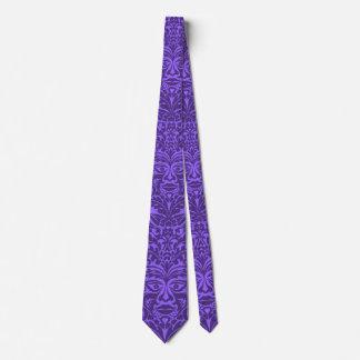 GREEN MAN Puple Tie
