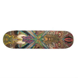 Green Man Skateboard Deck