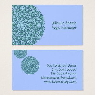 Green Mandala Business Cards