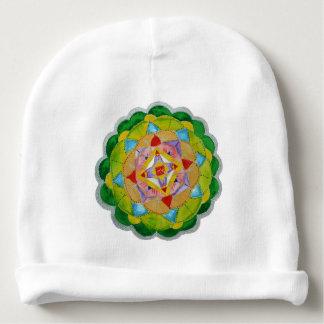 Green Mandala Custom Baby'sCotton Rib Infant Hat