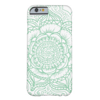 Green Mandala (singular) Barely There iPhone 6 Case