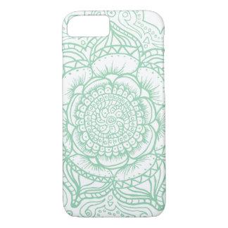 Green Mandala (singular) iPhone 8/7 Case