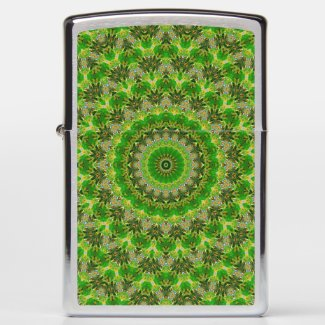 Green Mandala Wheel...