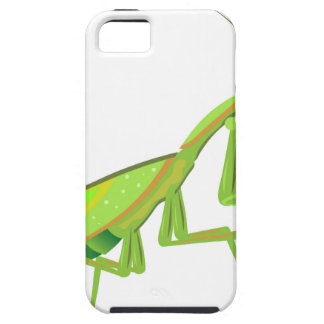 Green Mantis Vector iPhone SE/5/5s Case